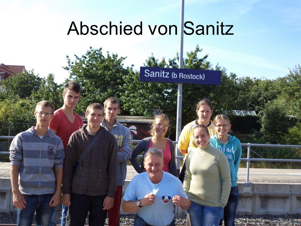 Abschied von Sanitz
