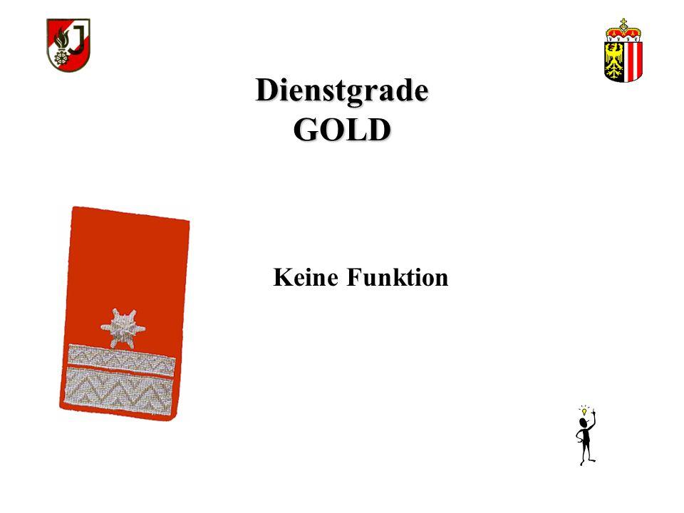 Dienstgrade GOLD Funker