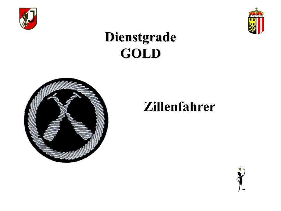 Dienstgrade GOLD Sprengbefugter