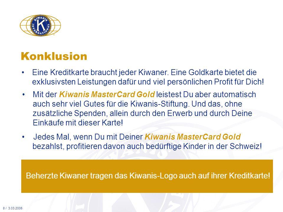 Eine Kreditkarte braucht jeder Kiwaner. Eine Goldkarte bietet die exklusivsten Leistungen dafür und viel persönlichen Profit für Dich! Konklusion 8 /