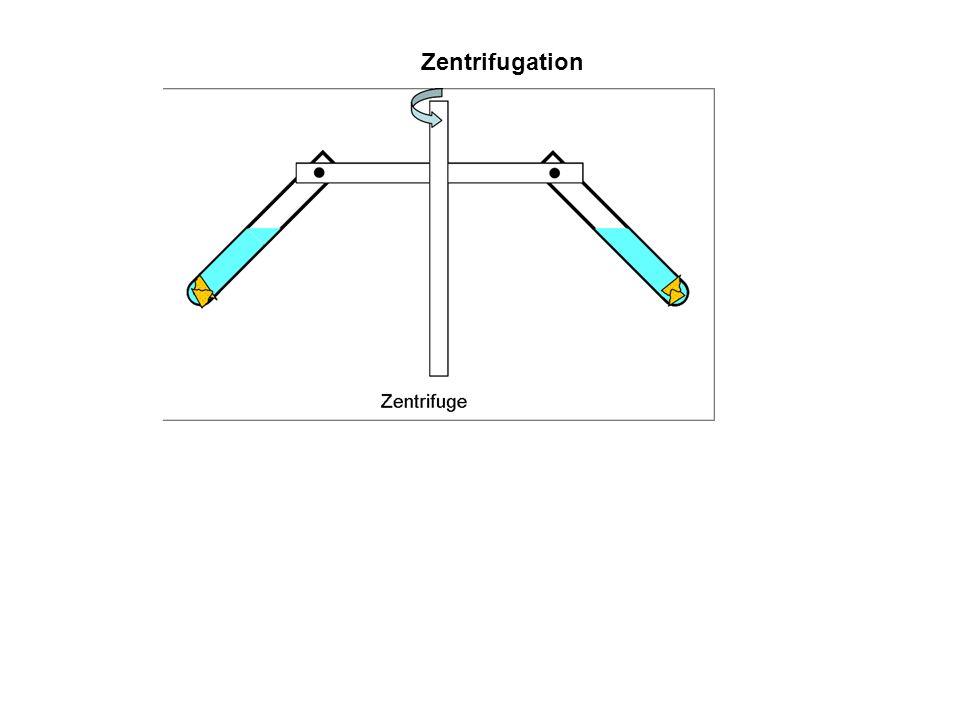 Zentrifugation