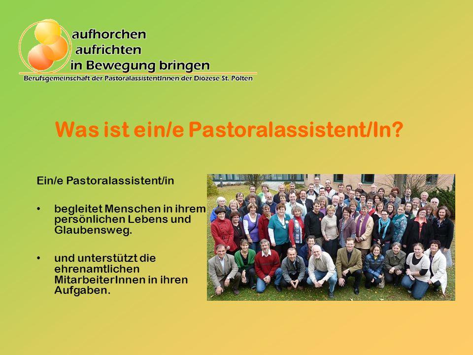 Berufsfelder Pfarrpastoral Jugendpastoral Krankenseelsorge Betriebsseelsorge