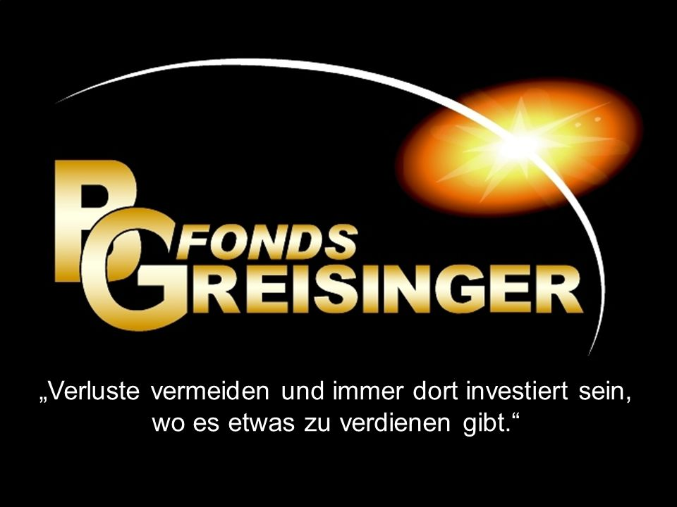 BG Umbrella Fund Bernd Greisinger 41 Jahre Geschäftsführer der GREISINGER RESEARCH AG Referent Chefanalyst der BG-Fonds Qualifikation: vorhanden