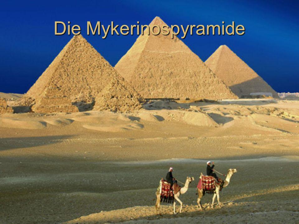 Die Mykerinospyramide