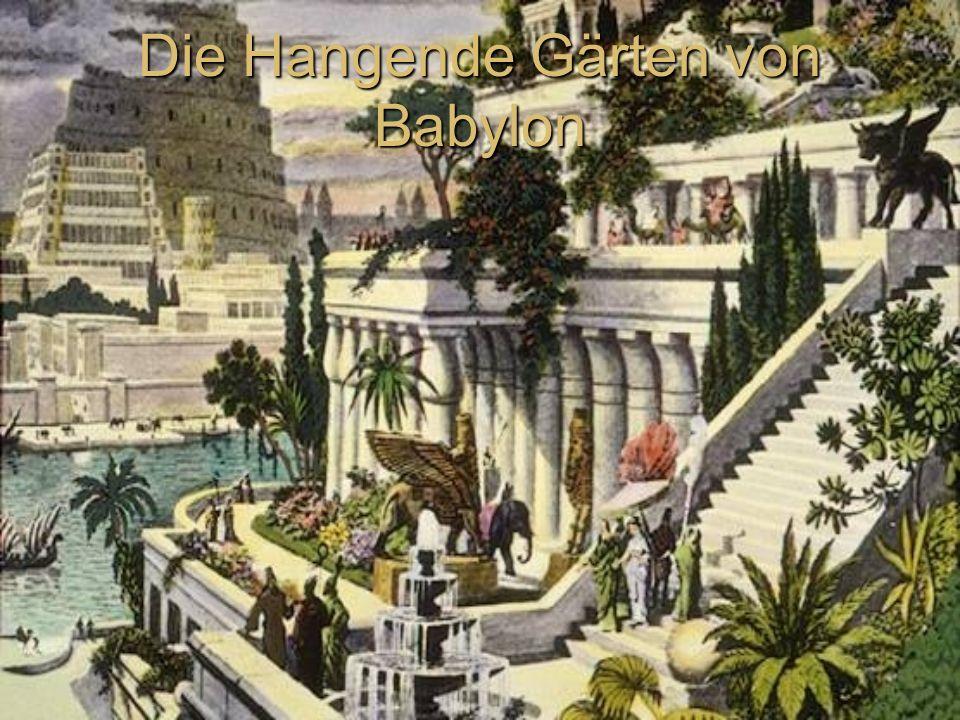 Die Hangende Gärten von Babylon