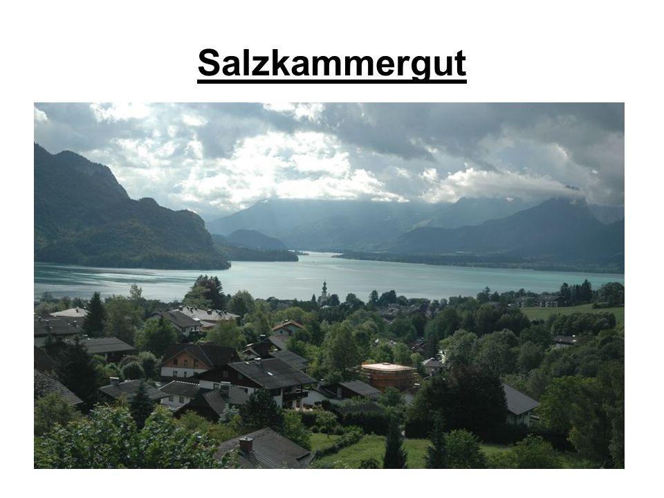 Die Salzburger Getreidegasse befindet sich in der Altstadt und ist Salzburgs berühmteste Einkaufsstraße.