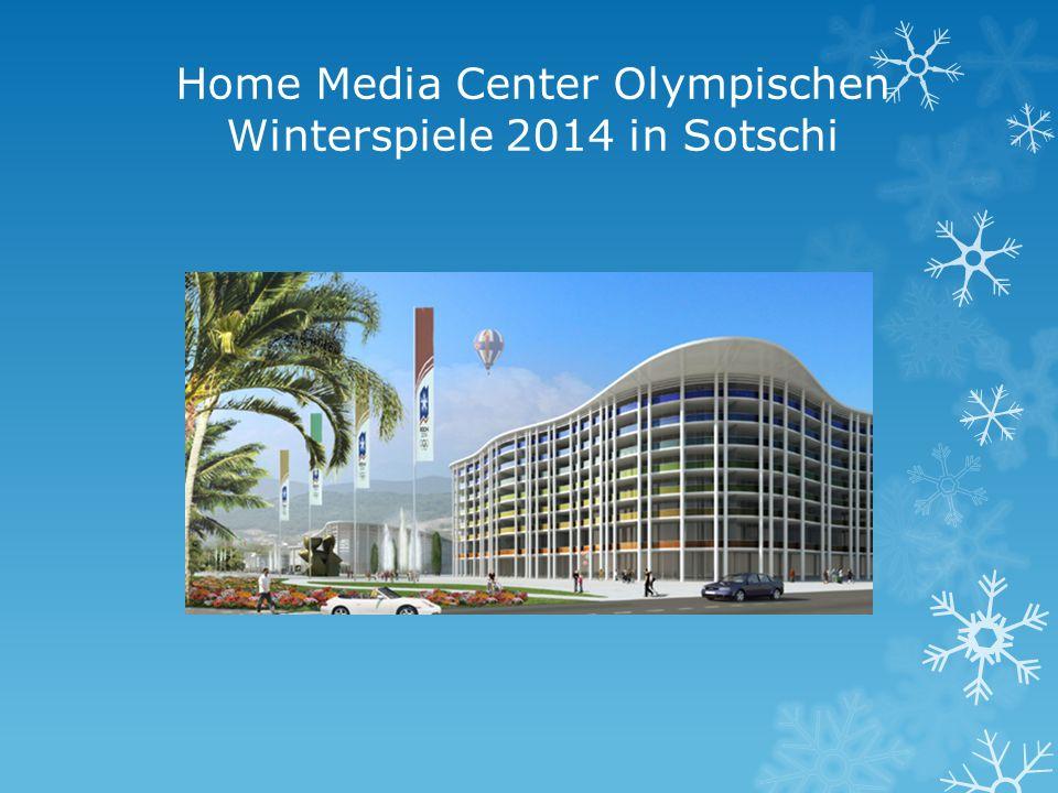 Home Media Center Olympischen Winterspiele 2014 in Sotschi