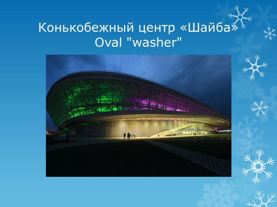 Конькобежный центр «Шайба» Oval washer