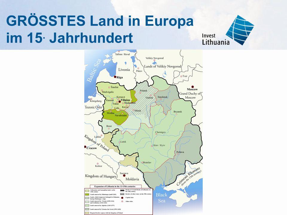 GRÖSSTES Land in Europa im 15. Jahrhundert