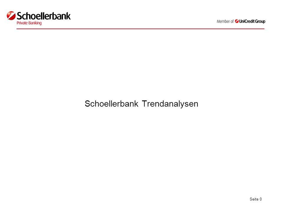 Seite 0 Schoellerbank Trendanalysen