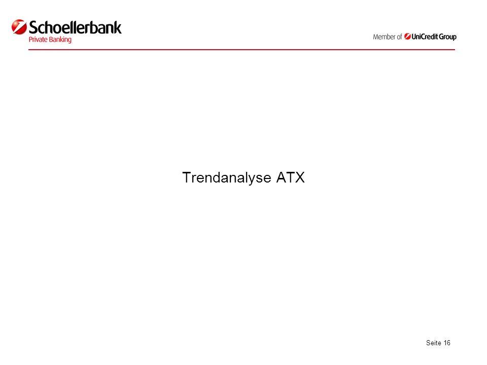 Seite 16 Trendanalyse ATX
