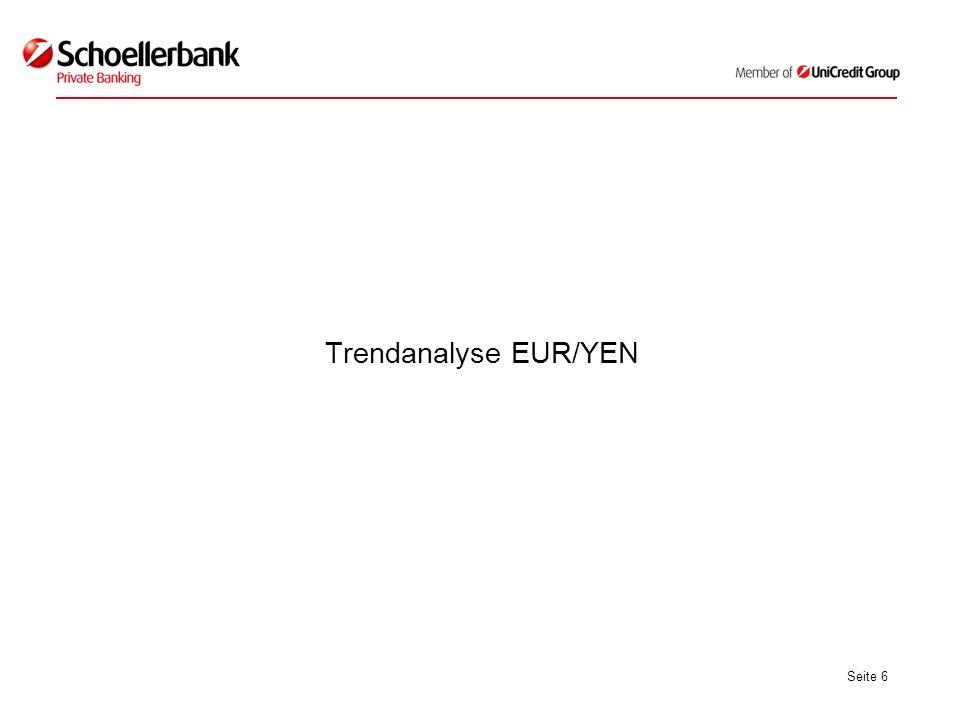 Seite 6 Trendanalyse EUR/YEN