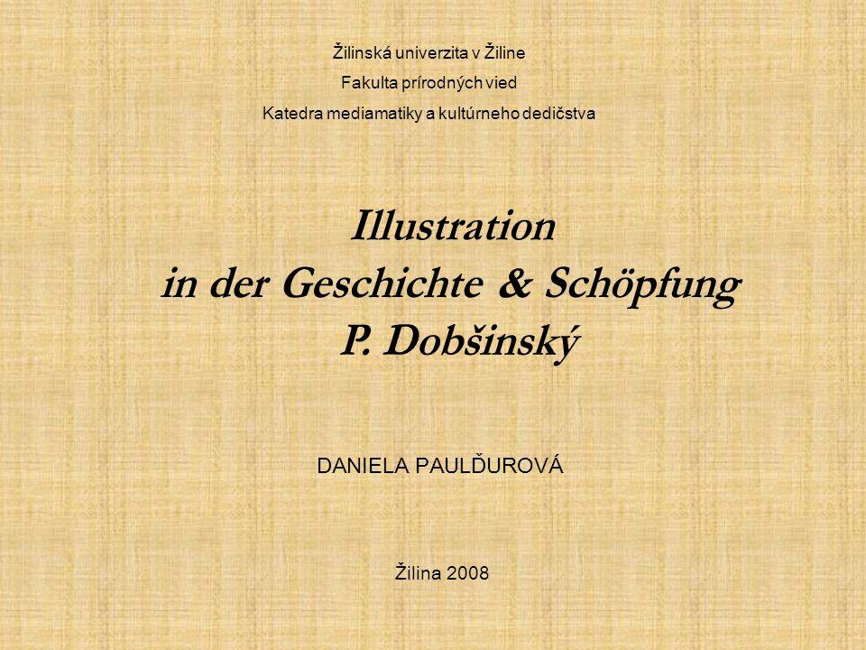 Die Illustration und das Kind Evka Gregorová, 8 jähreKatka Štricová, 9 jähre Barborka Rošková, 8 jähre