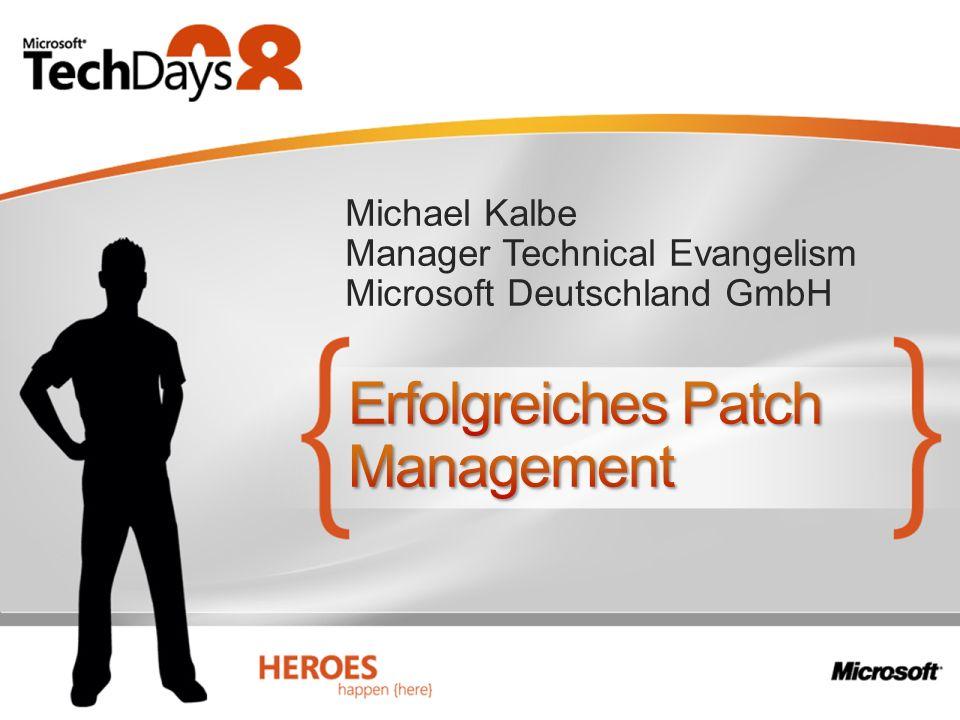 Michael Kalbe Manager Technical Evangelism Microsoft Deutschland GmbH