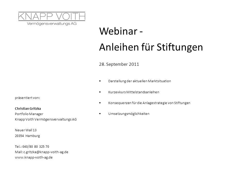 Webinar - Anleihen für Stiftungen 28.