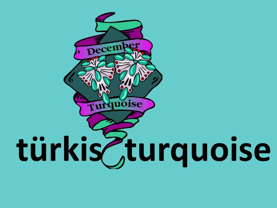 türkisturquoise