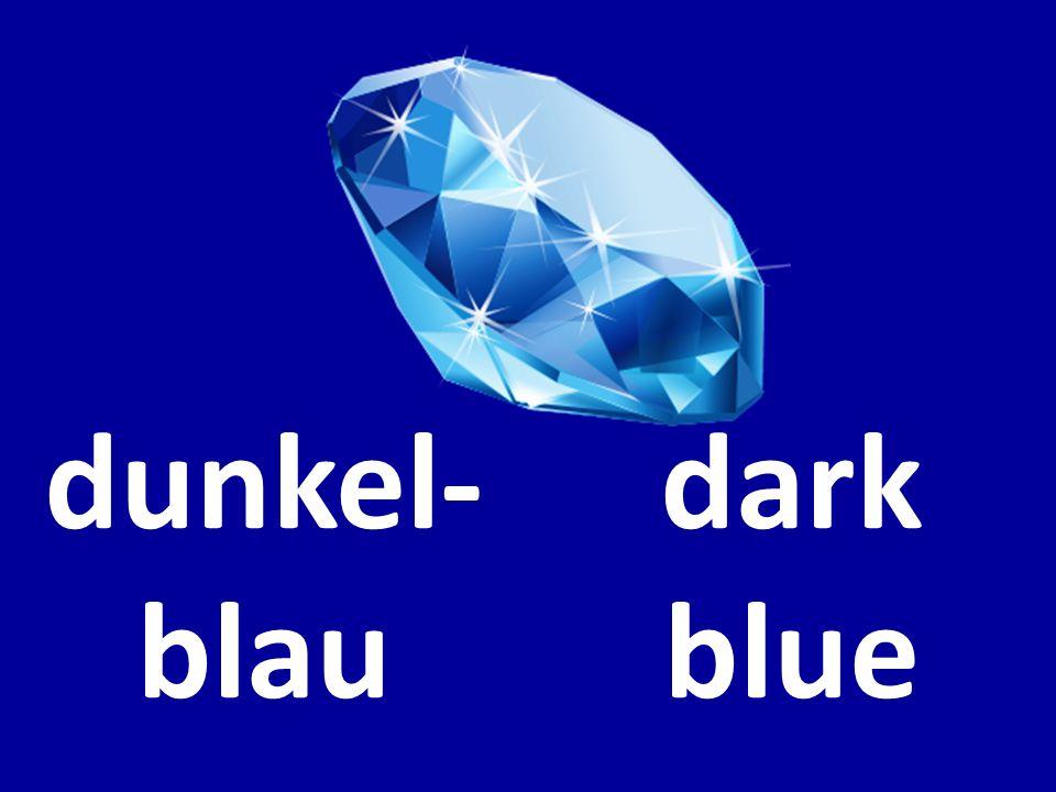 dunkel- blau dark blue