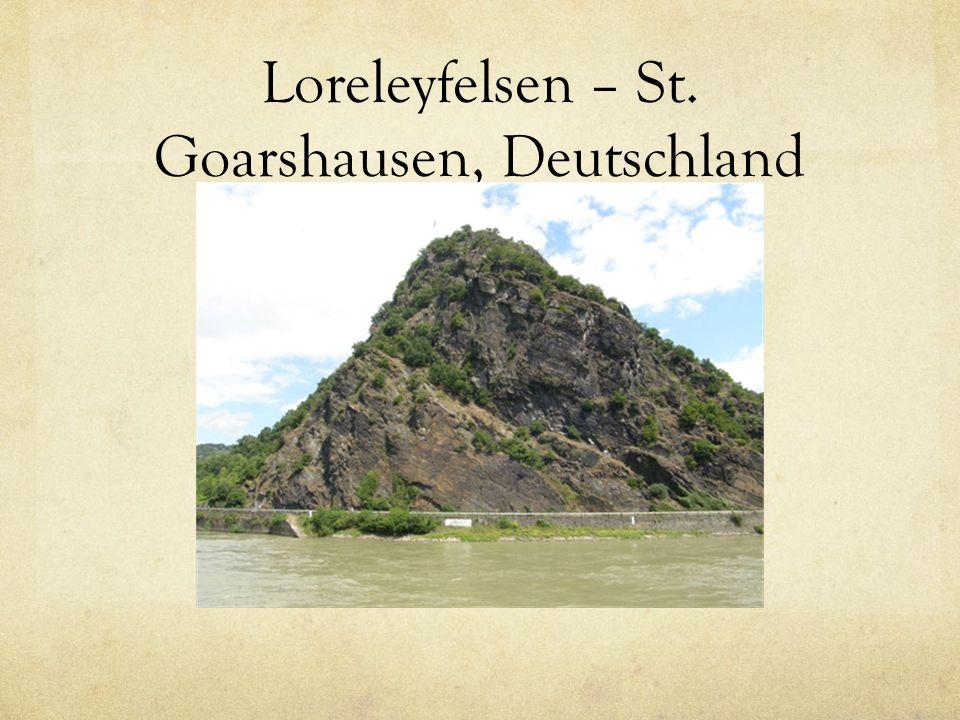 Loreleyfelsen – St. Goarshausen, Deutschland