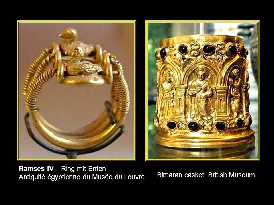 Lorbeerkranz, vermutlich Zypern, 4./3. Jh. v. Chr.; Gold Reiss – Engelhorn - Museen, Mannheim Totenmaske, Ilama (Calima), Kolumbien, 1. Jahrtausend v.