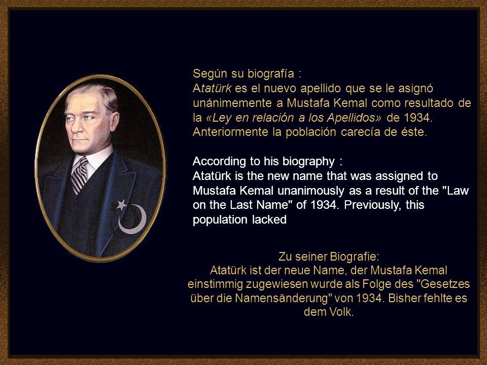 5 Mustafa Kemal Atatürk, fue el fundador y primer Presidente de la República de Turquía, utilizó el Palacio como residencia presidencial durante los v