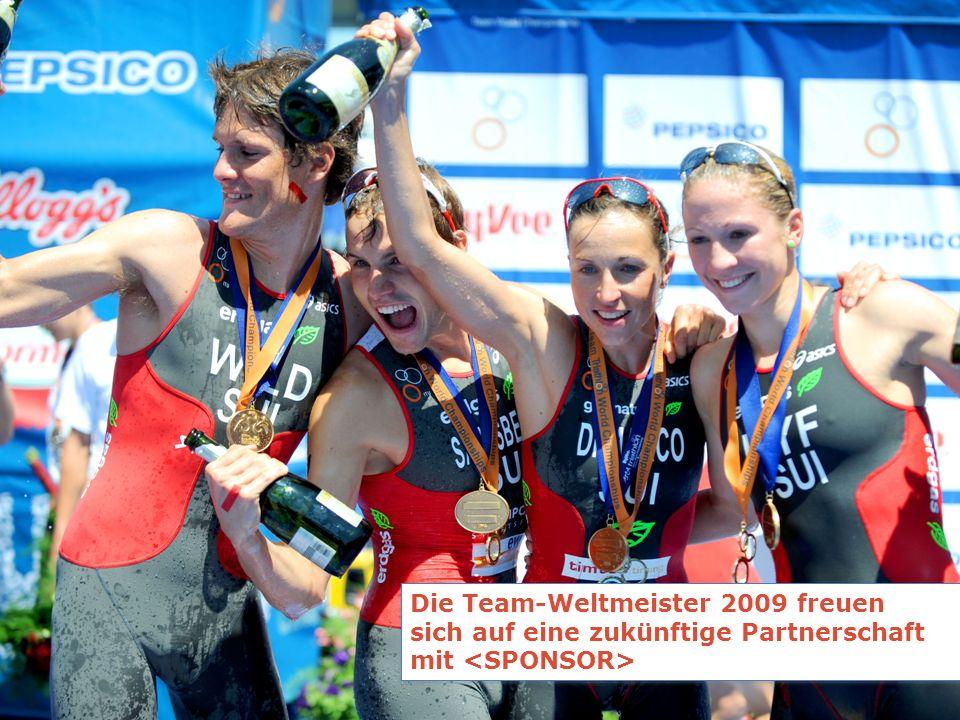 Die Team-Weltmeister 2009 freuen sich auf eine zukünftige Partnerschaft mit