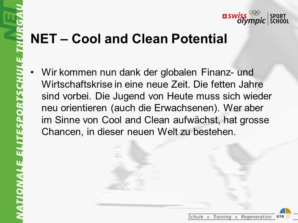 NET – Cool and Clean Potential Wir kommen nun dank der globalen Finanz- und Wirtschaftskrise in eine neue Zeit.