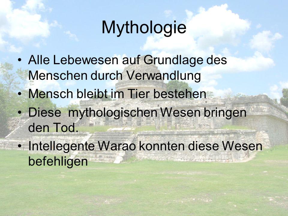 Mythologie Alle Lebewesen auf Grundlage des Menschen durch Verwandlung Mensch bleibt im Tier bestehen Diese mythologischen Wesen bringen den Tod. Inte