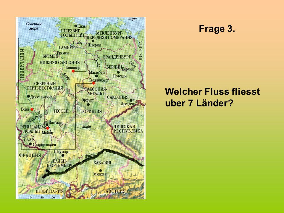 Frage 5. Welche deutsche Städte sind durch ihre internationalen Messen bekannt?