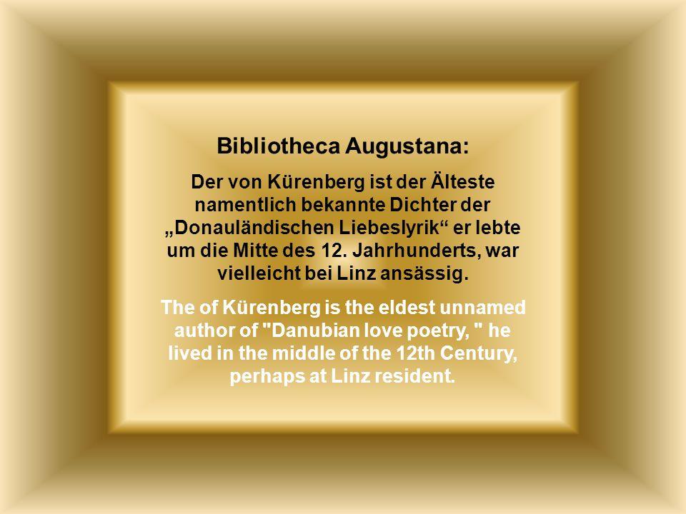 Ich zog mir einen Falken I raised a falcon Autor: der von Kürenberg 1150/70 bitte klicken hme12@t-online.de