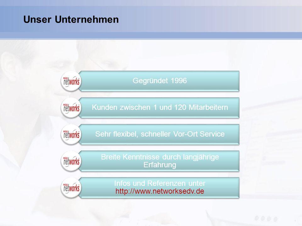 Microsoft Gold Certified Partner Ihr direkter Kontakt: Prögel networks GmbH Bernd Prögel Tel: 09123 982117 E-Mail: vertrieb@networksedv.de Internet: http://www.networksedv.de