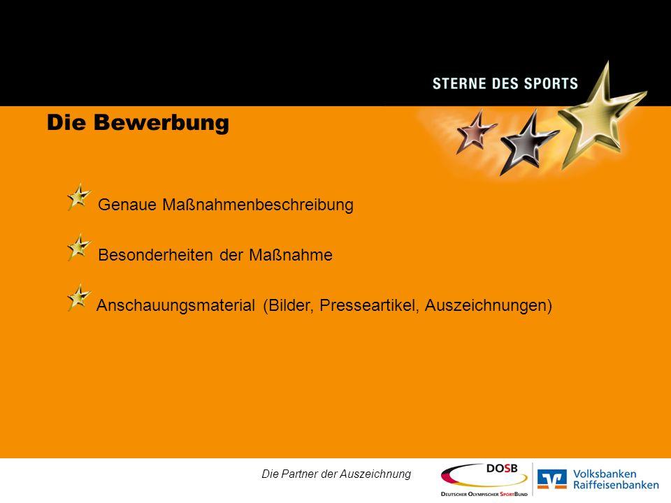 Grußbotschaft von Fabian Hambüchen Die Partner der Auszeichnung
