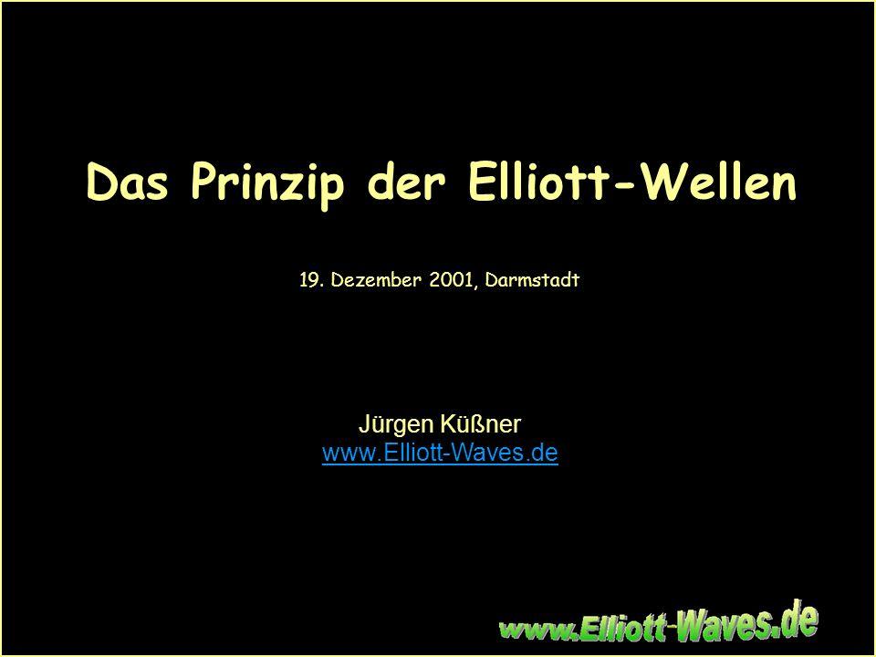Börsen-Team, Darmstadt ·19. Dezember 2001 - 1 Das Prinzip der Elliott-Wellen 19. Dezember 2001, Darmstadt Jürgen Küßner www.Elliott-Waves.de