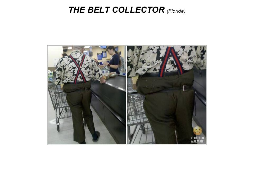 THE BELT COLLECTOR (Florida)