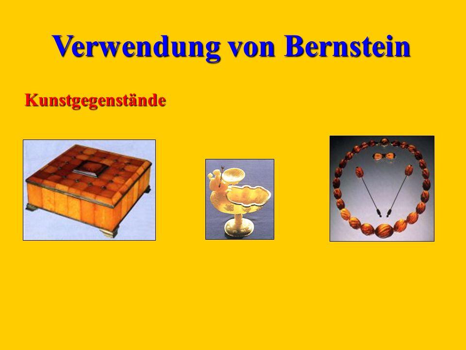Verwendung von Bernstein Kunstgegenstände