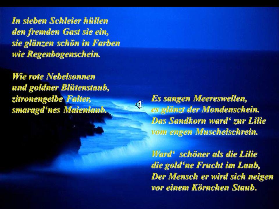 Es sangen Meereswellen, es glänzt der Mondenschein.