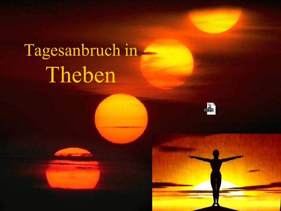 Tagesanbruch in Theben