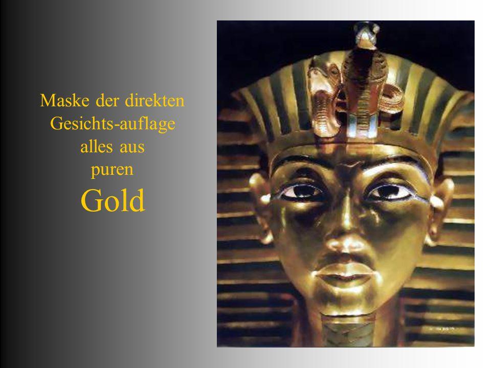 über den Binden der Mumie