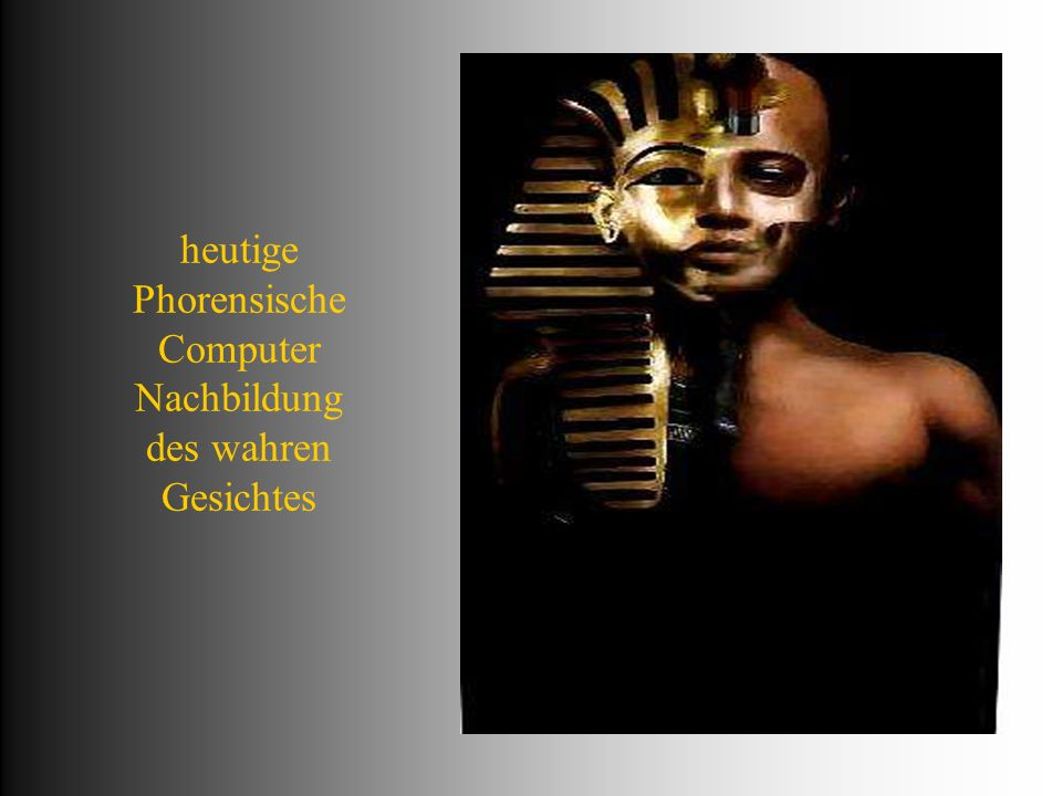Maske der direkten Gesichts-auflage alles aus puren Gold