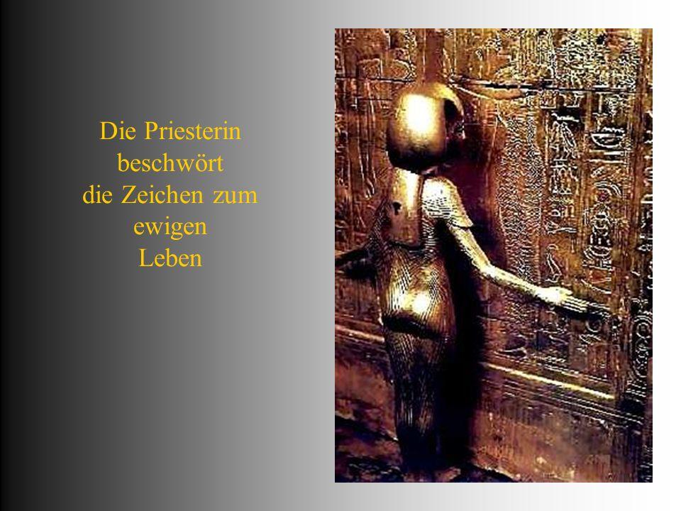 Fürstensöhne die Leibwache des toten Pharaos