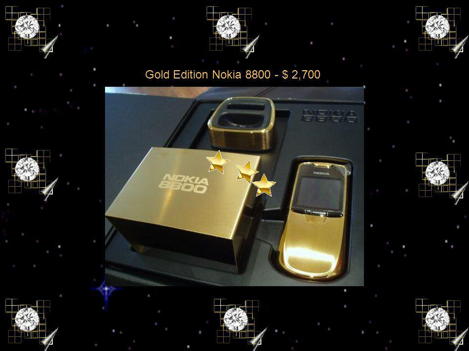 Gold Edition Nokia 8800 - $ 2,700
