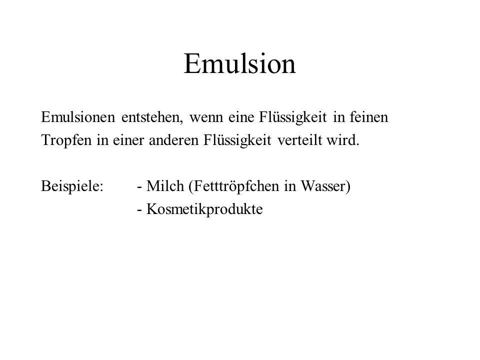 Filtration Die Filtration eignet sich zur Trennung von nicht löslichen Feststoffen aus Flüssigkeiten oder Gasen.
