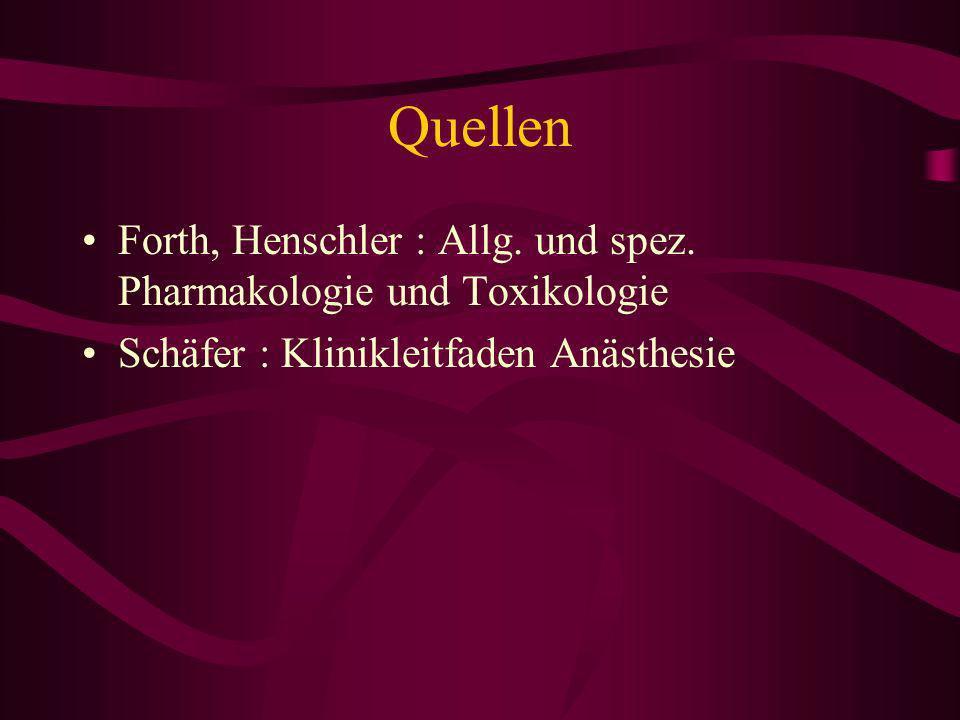 Narkosestadien (nach Guedel) Analgesie Exzitation Toleranz (1. bis 4. Stufe) Asphyxie