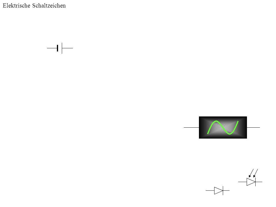 Elektrische Schaltzeichen