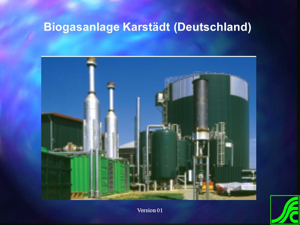 Version 01 Biogasanlage Karstädt (Deutschland)
