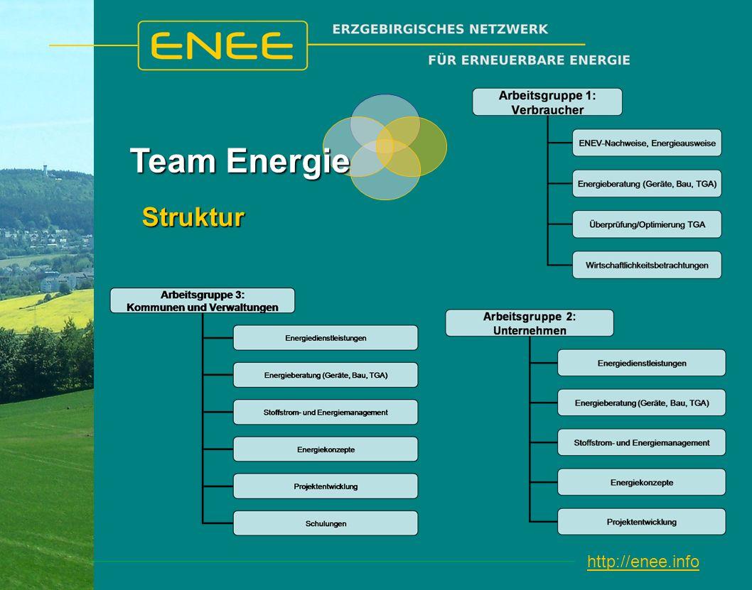 http://enee.infoStruktur Team Energie