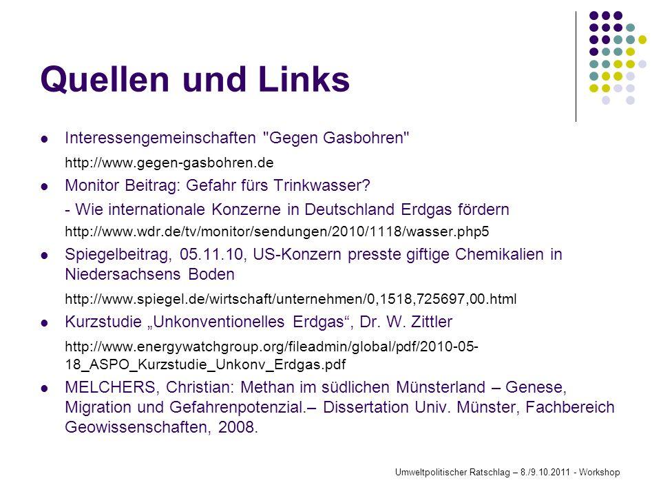 Quellen und Links Interessengemeinschaften