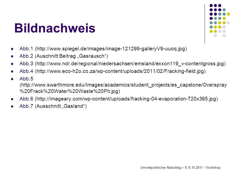 Bildnachweis Abb.1 (http://www.spiegel.de/images/image-121299-galleryV9-uuoq.jpg) Abb.2 (Auschnitt Beitrag Gasrausch) Abb.3 (http://www.ndr.de/regiona