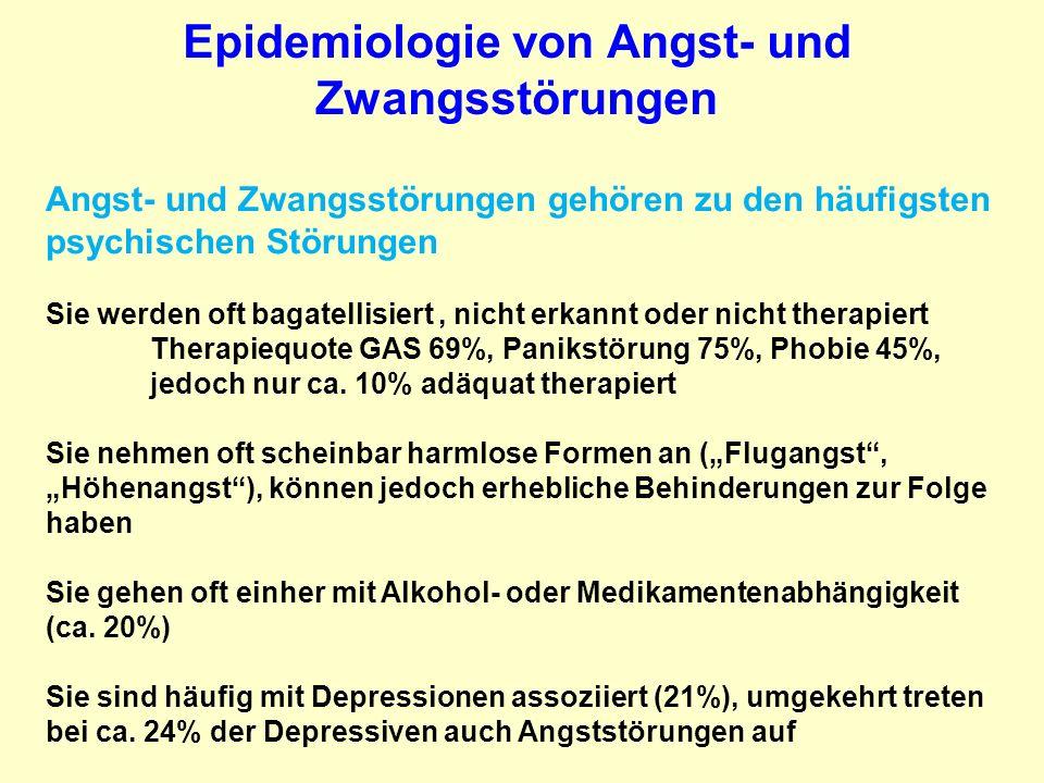 Angst- und Zwangsstörungen: Therapie Benzodiazepine.