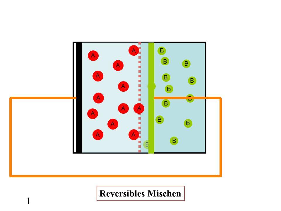 B B B B B B B B B B B B B 1 A A A A A A AA A A AA Reversibles Mischen