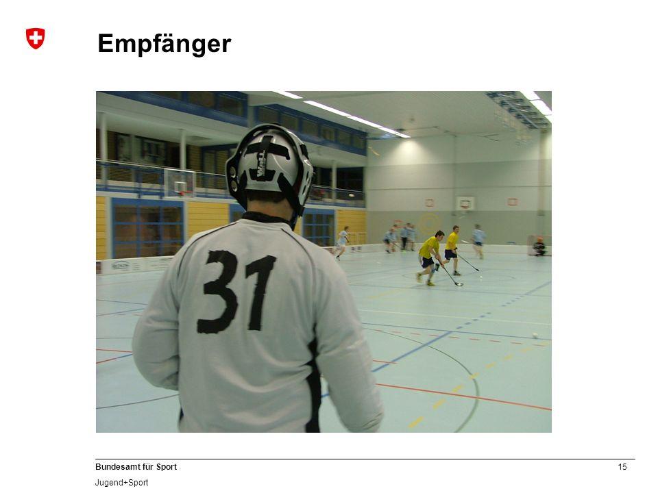 15 Bundesamt für Sport Jugend+Sport Empfänger